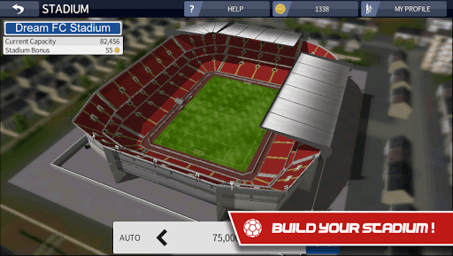 Download and install Dream League Soccer mod 2017 v4.01 APK + OBB
