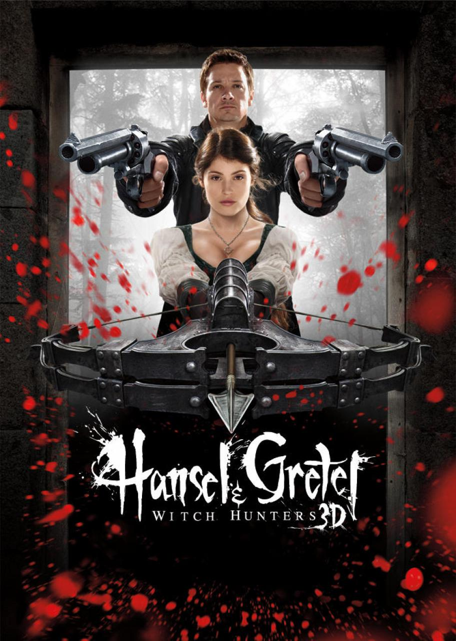 Nonton Film Hansel and Gretel Witch Hunters (2013)