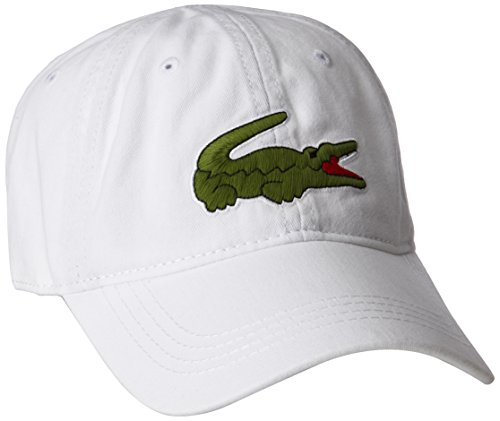 11a75486ef9d1 Lacoste Men s Big Croc Gabardine Cap