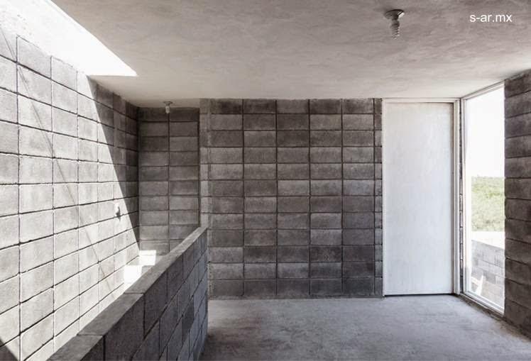 Arquitectura de Casas Moderna casa caja de bloques de