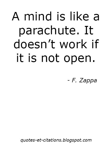 citation être ouverts d'esprit