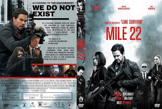 Mile 22 DVD