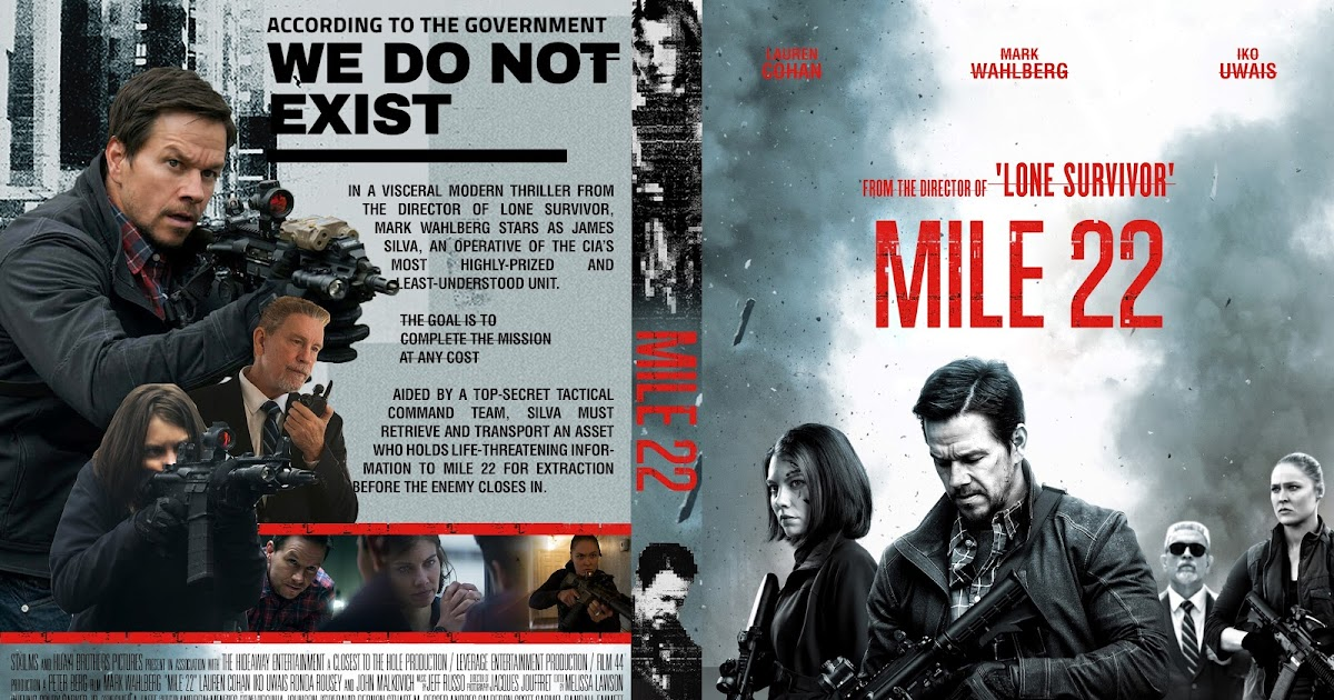 300 Full Movie >> Mile 22 DVD Cover - Cover Addict - DVD and Bluray Covers