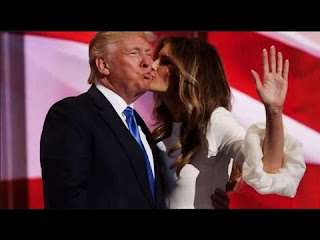 latent synstry of donald trump and melania