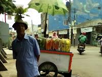 Rujak Buah pak Saal - Wisma Jaya Timur, Aren Jaya, Bekasi Timur