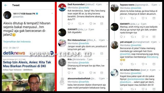 """Alexis Ditutup Malah Nyinyir, Iwan Fals pun """"Dihajar"""" Netizen"""