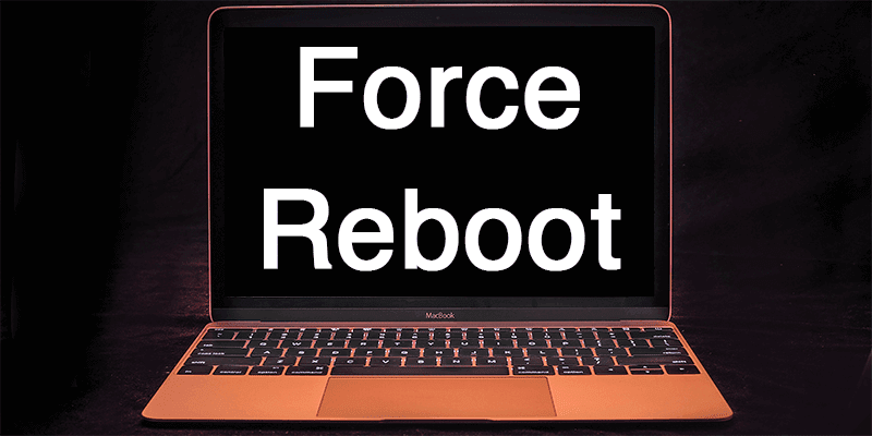 force restart macbook pro