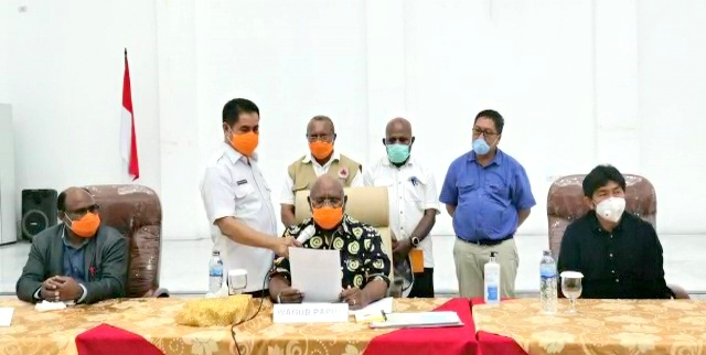 Pemprov Papua Naikan Status Tanggap Darurat Penanganan Corona Virus Hingga 6 Mei