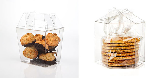 CLear Boxes for packaging Cookies