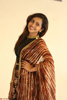 Lasya looks super cute in black choli Saree at Raja Meru Keka Press Meet ~  Exclusive 091.JPG