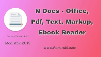 N Docs 4.4.2- Office, Pdf, Text, Markup, Ebook Reader