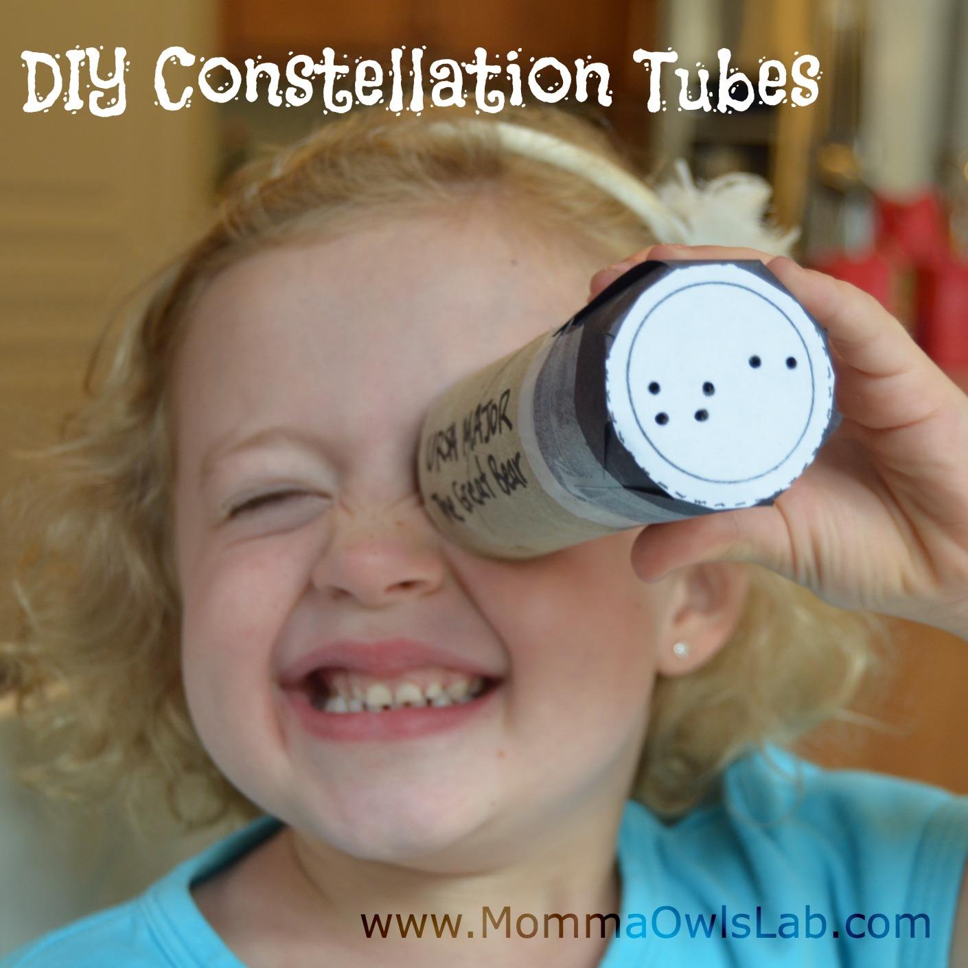 Momma Owl S Lab Diy Constellation Tubes