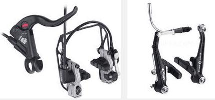 велосипедные тормоза v-brake