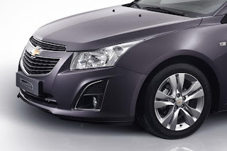 new chevrolet cruze facelift front bumper