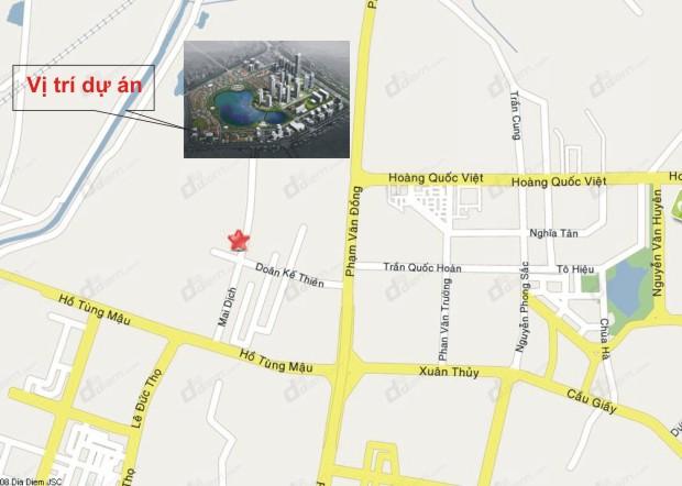 vị trí khu đô thị thành phố giao lưu