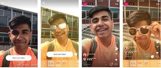 Cara Menambahkan Fitur Face Filter atau Filter Wajah di Live Video Instagram