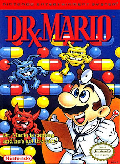 "Capa de ""Dr. Mario"" do NES."