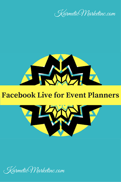 #eventprofs, #marketingprofs, #eventsponsors, #livestreaming #facebookLive