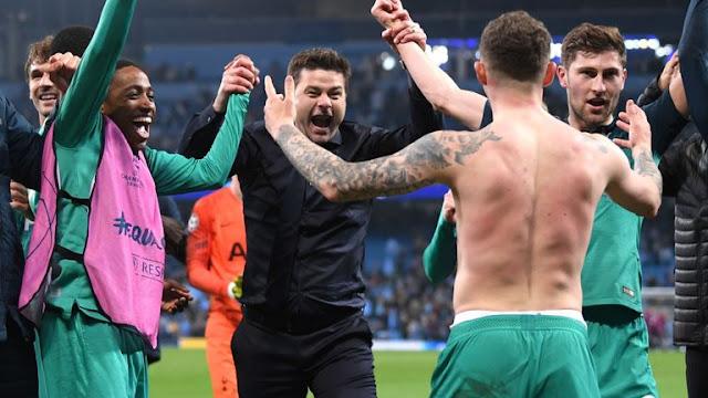 Tottenham Hotspur Celebrates Champions League