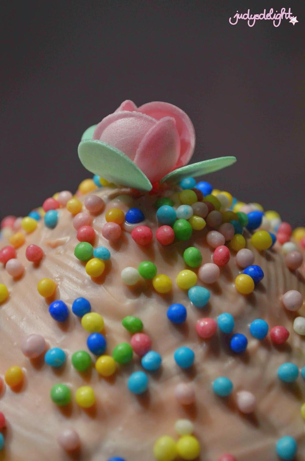 Rezept für die riesen Cupcakebackform.