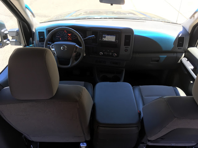 Interior view of 2016 Nissan NV 3500 High Roof
