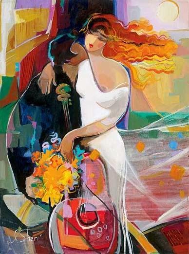 Vento da Paixão - Irene Sheri e suas românticas pinturas