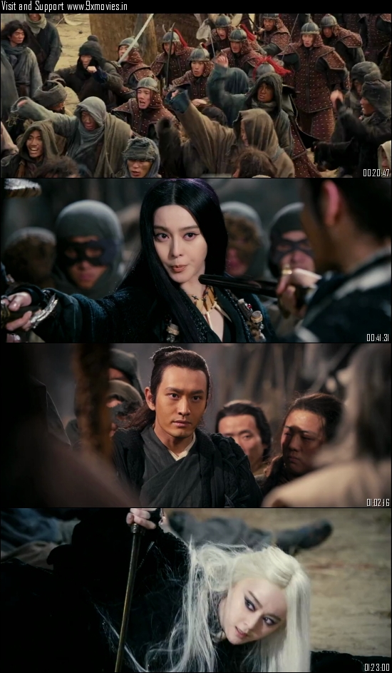 The White Haired Witch Of Lunar Kingdom 2014 Dual Audio Hindi 720p BluRay