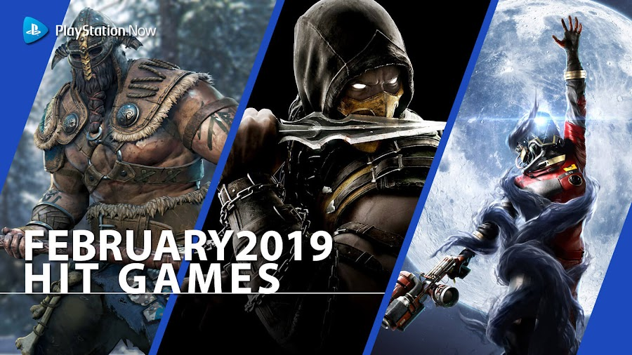 playstation now for honor mkx hit ps4 games february 2019 prey