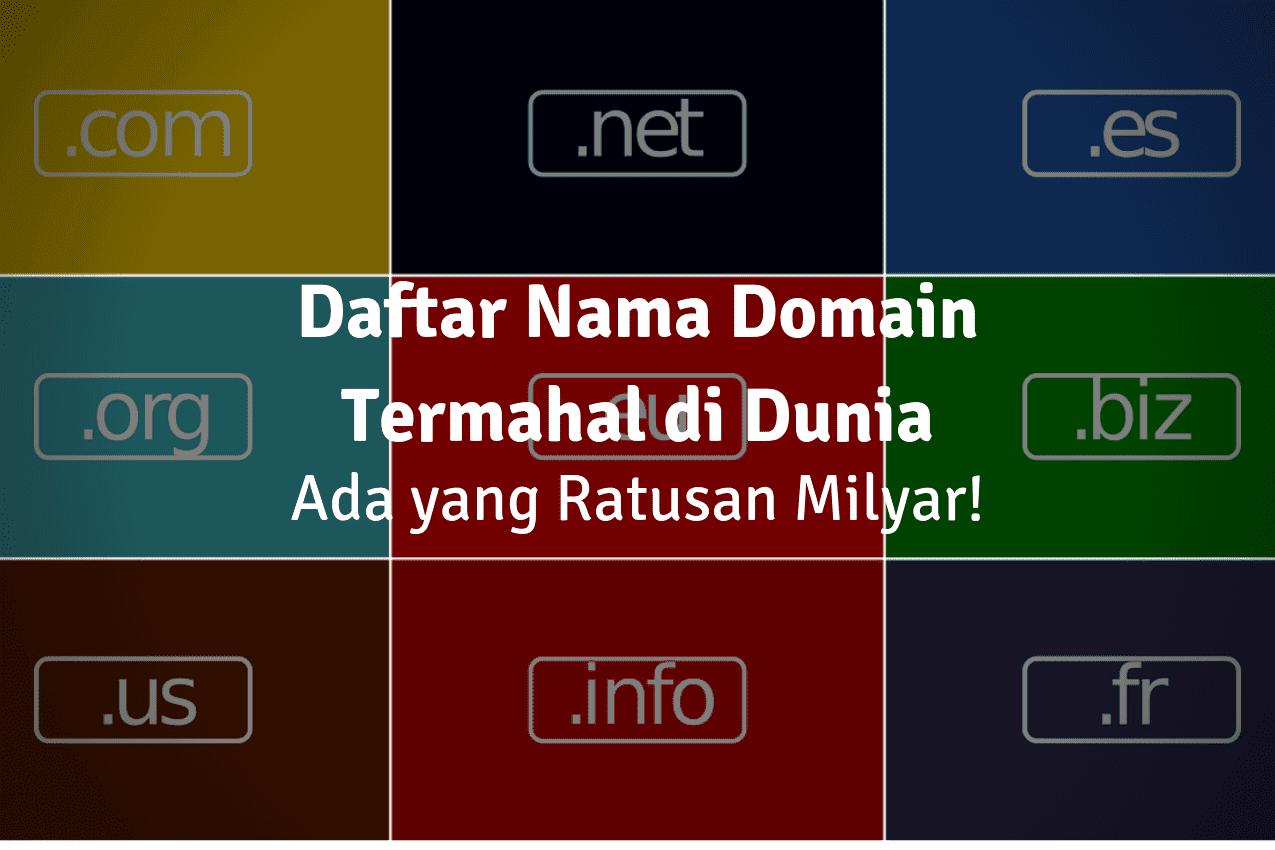 nama domain termahal di dunia