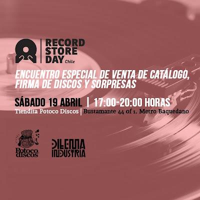 Record Store Day en Chile en Potoco Discos y Dilema Industria