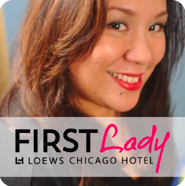 I'm the official First Lady of #LoewsChicago