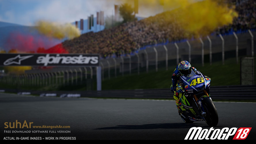 Free Download MotoGP 18 PC Game Full Version, MotoGP 18 For PC Game, MotoGP 2018 Full DLCs Terbaru, MotoGP 2018 Full Update Terbaru