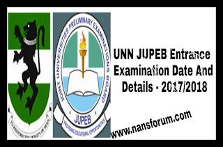Image for UNN JUPEB 2017/2018