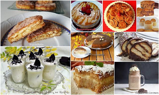 Deliciosos postres con galletas. Julia y sus recetas