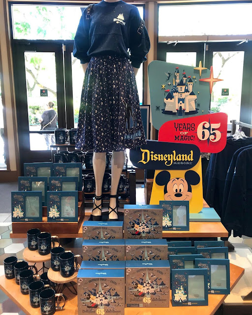 Disneyland Park 65th Anniversary Celebrate 65 Years of MAGIC New Merchandise