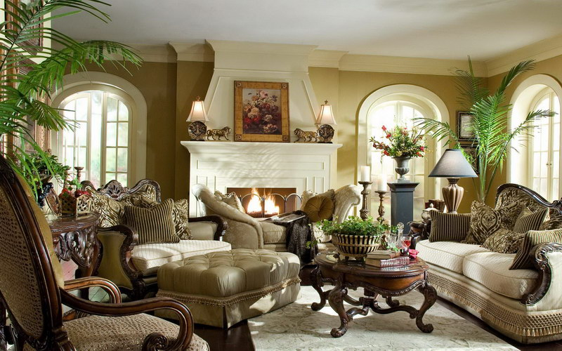 12 Awesome Tuscan Living Room Designs | Living Rooms Gallery