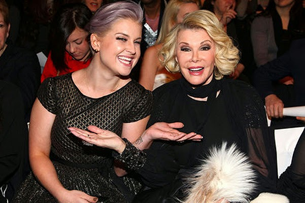 Kelly Osbourne and Joan Rivers