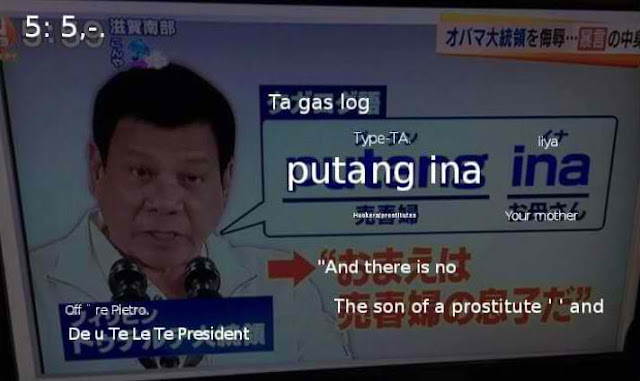 VIRAL: WATCH Japanese News Made A Trivia On President Duterte's Cursing!
