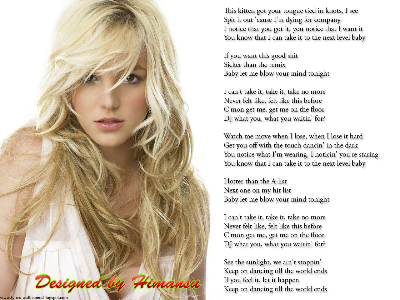 Lyrics Wallpapers: Bri...