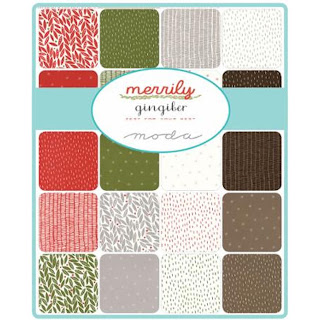 Moda Merrily Fabric by Gingiber for Moda Fabrics