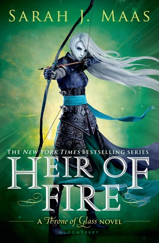 Currently Reading: Heir Of Fire by Sarah J. Maas