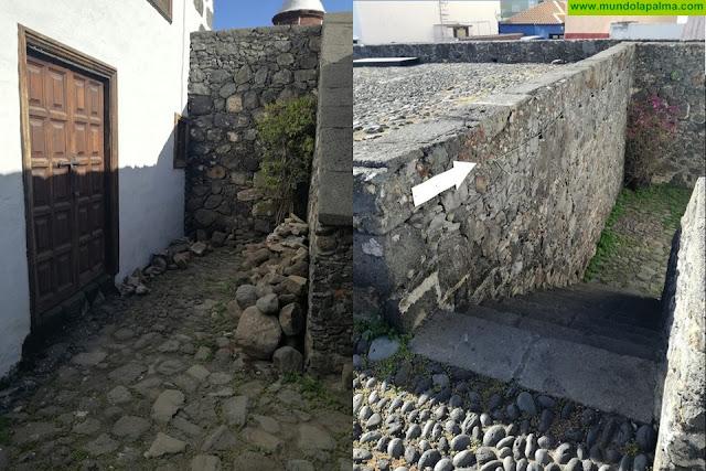 Actos vandálicos en el Real Castillo de Santa Catalina
