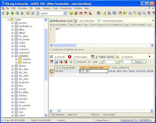 edit database indobilling