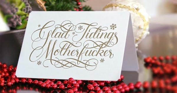 Beautifully Profane Christmas Cards