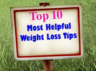 Top Ten Slow Weight Loss Tips