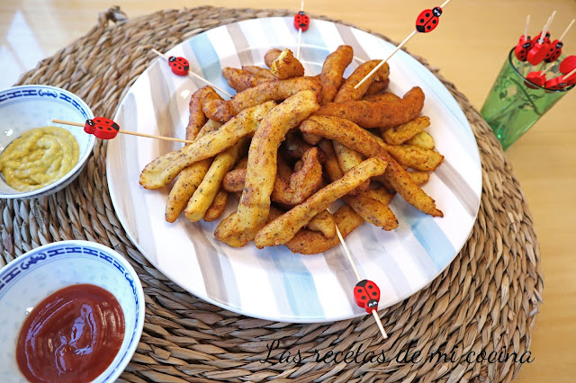 Churros de patatas