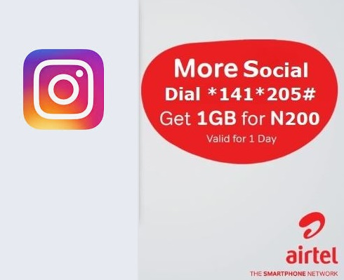 How to Get Airtel Instagram Bundle 1GB For N200