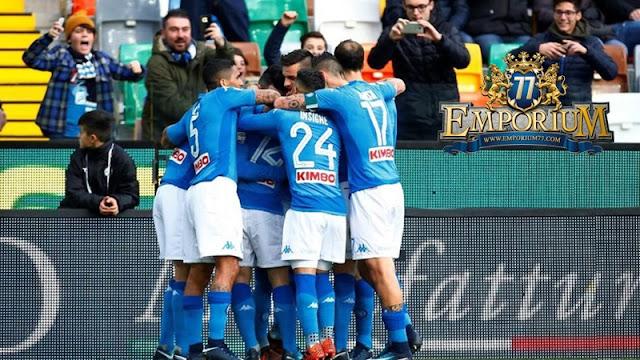 Gol Tunggal Pemain Napoli Sudah Cukup Untuk Menggeser Inter Milan.