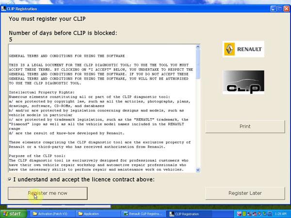 register CLIP