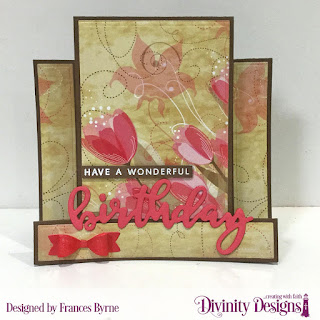 Stamp/Die Duos: Birthday  Custom Dies: Center Step Card, Center Step Layers, Test Tube Trio (bow), Circles, Scalloped Circles Paper Collection: Beautiful Blooms